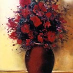 Red Amarylis Bouquet