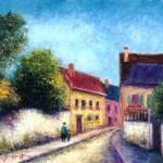 Street Scene in Vetheuil