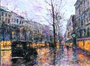Rainy Day, Paris
