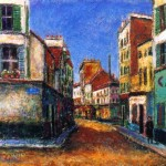 French Village, Street Scene