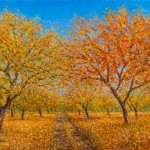 Autumn in the Orchard 18x2424x3236x48