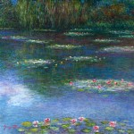 Water Lily Reflections 20x2030x3040x40