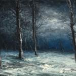 Merlins Road under Snow 18x2424x3236x48