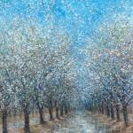 Almond Blossoms II 24x16 36x24 60x40