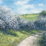 Sunny Spring Lane 18x24 24x32 36x48